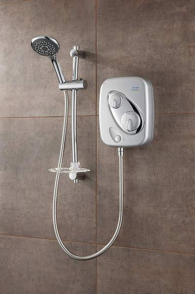Triton Thermostatic Power Shower - Satin