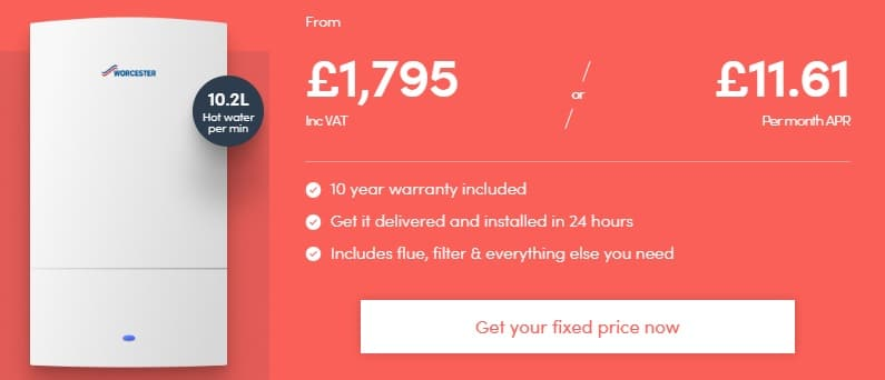 New Boiler Installation Costs by BOXT
