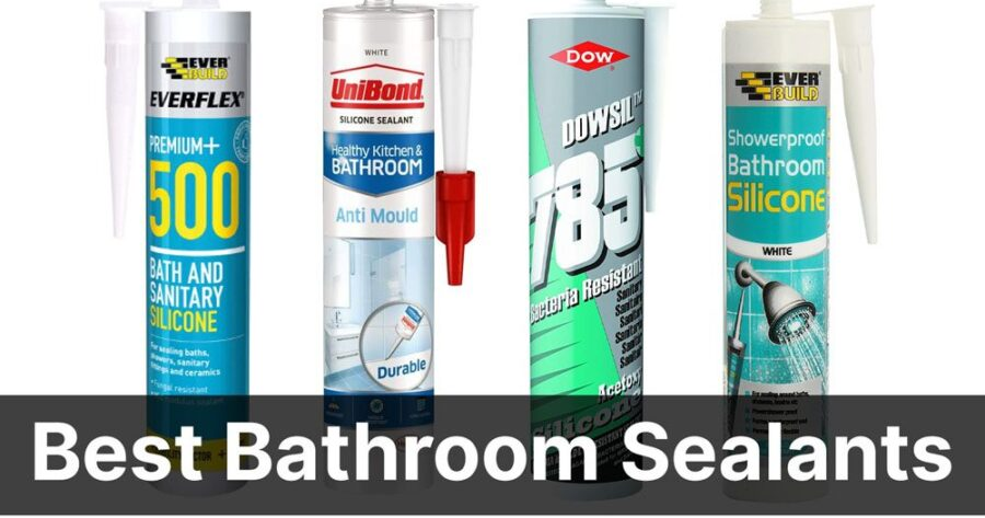 Best Bathroom Sealant and Shower Sealants (Reviews) in 2021
