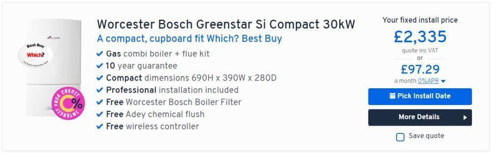 Worcester Bosch Greenstar Si Compact 30kW