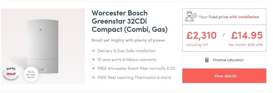 Worcester Bosch Greenstar 32CDi Compact (Combi Boiler Review)