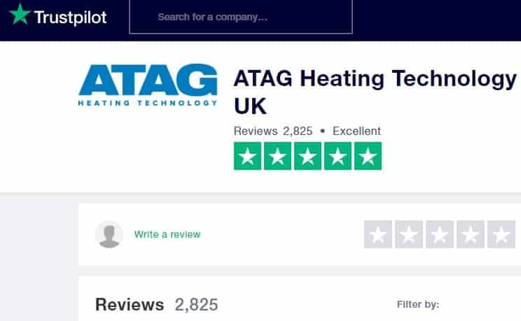 atag boiler reviews on trustpilot