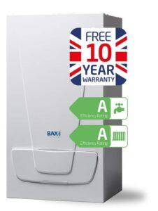 Baxi EcoBlue Advance combi boiler