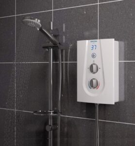 Bristan GLE3105 W 10.5 kW Glee 3 Electric Shower