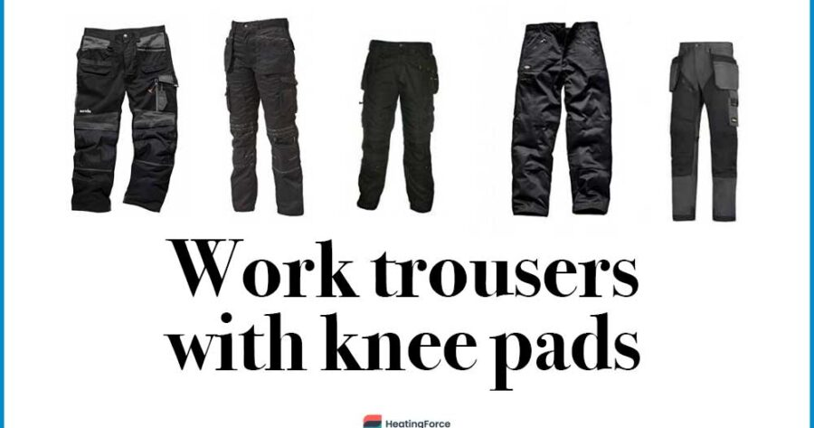 5 Best Work Trousers with Knee Pads (Review) in 2021