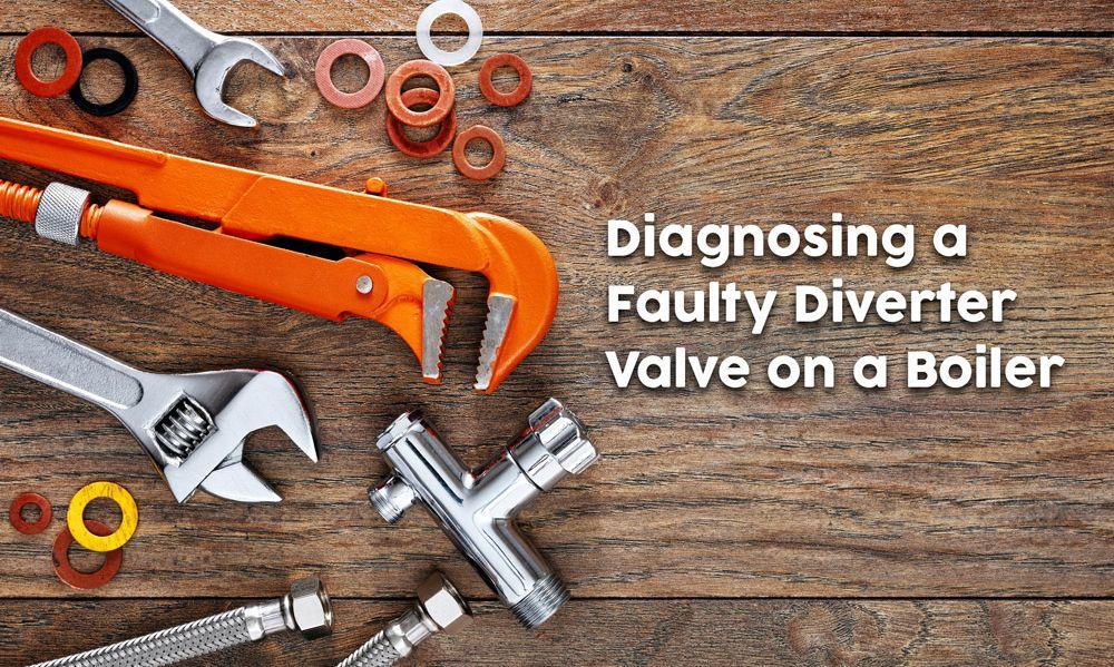 Diverter valve boiler