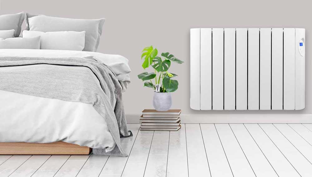 Futura 600W-1800W Oil Filled Electric Radiator Panel Heater