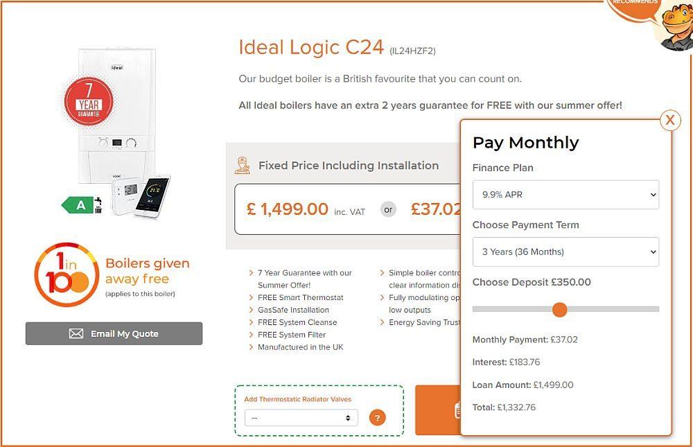 Ideal Logic C24 on Finance with WarmZilla