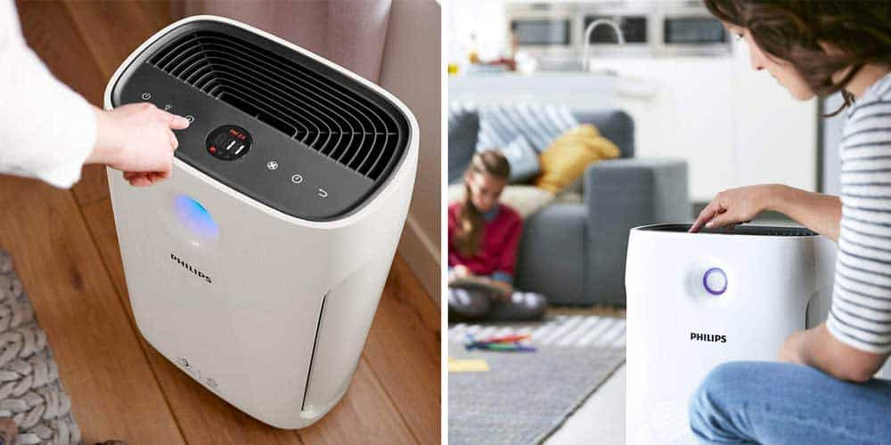 Philips AC2889/60 Series 2000i Connected Air Purifier Captures 99.97% of Airborne Viruses
