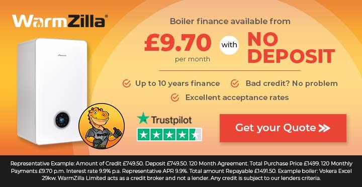 WarmZila boiler finance