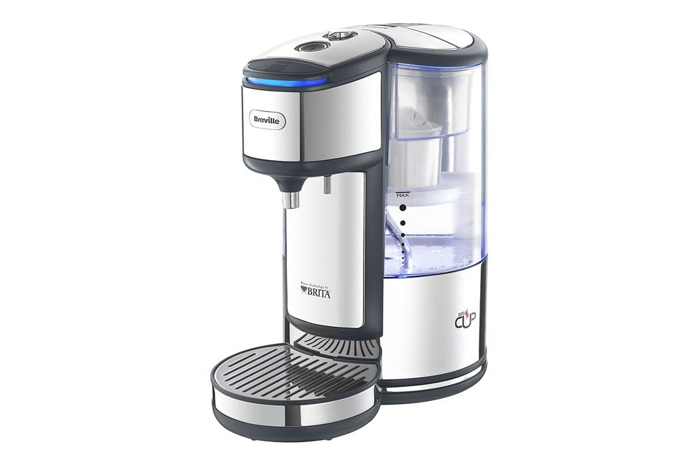 Breville BRITA HotCup Hot Water Dispenser with Integrated Water Filter