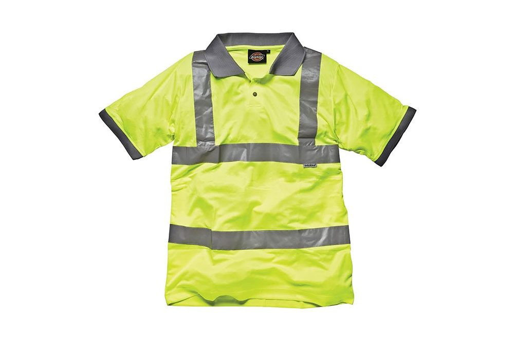 Dickies Hi-Vis Safety Polo Shirt - Mens Workwear