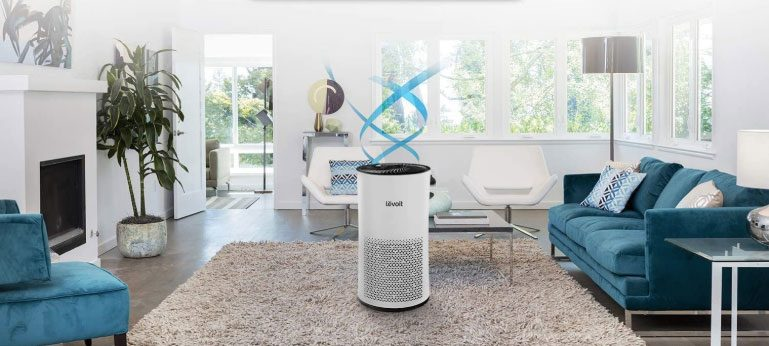 Levoit Air Purifier for Home Large Room with True HEPA Filters