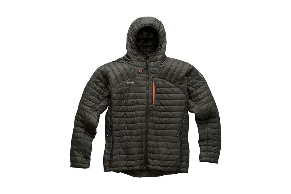 Scruffs Men's Expedition Thermo HD Work Jacket - Graphite