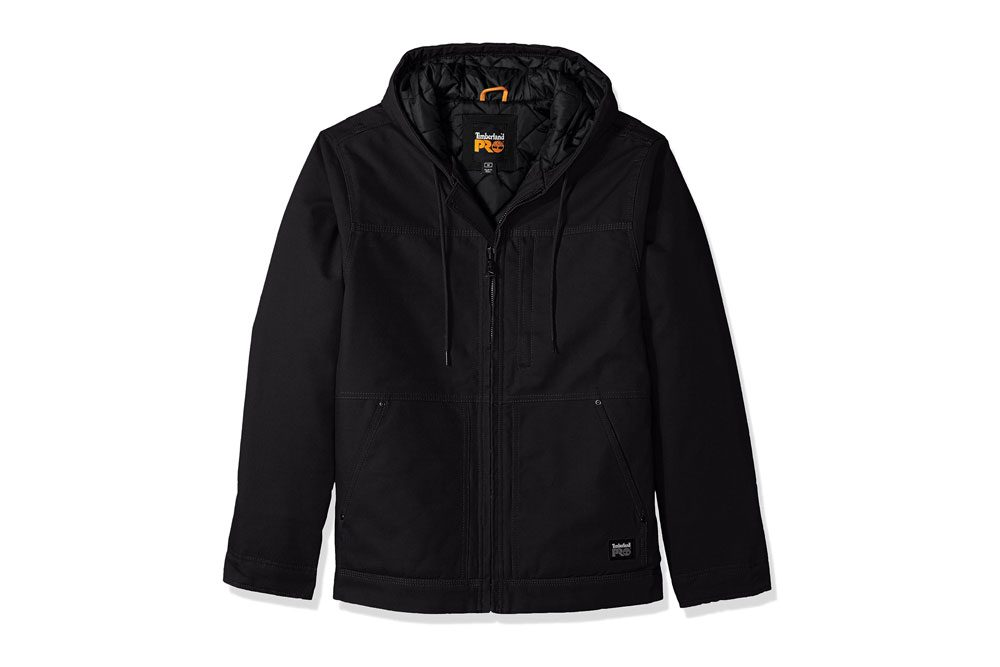 Timberland Pro Men's Outerwear - Rugged 10-ounce cotton canvas with durable water-repellent finish