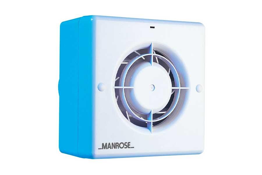 Manrose CF100T Centrifugal Bathroom / Toilet Extractor Fan