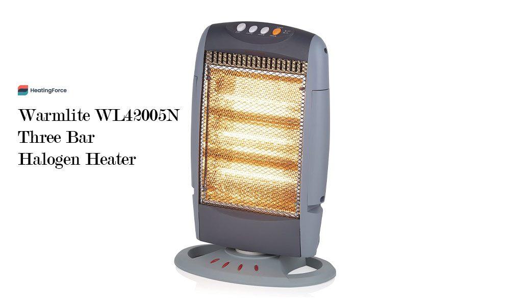Warmlite WL42005N Three Bar Halogen Heater