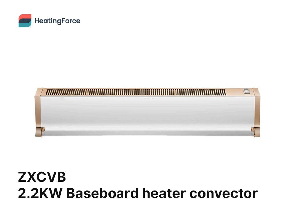 ZXCVB 2200W-Electric baseboard heater convector