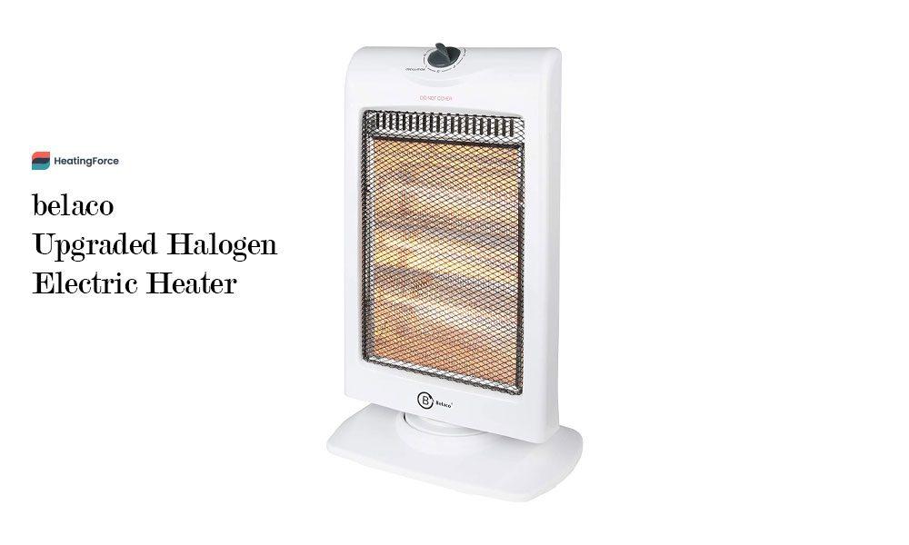 belaco New upgraded Halogen Electric Heater