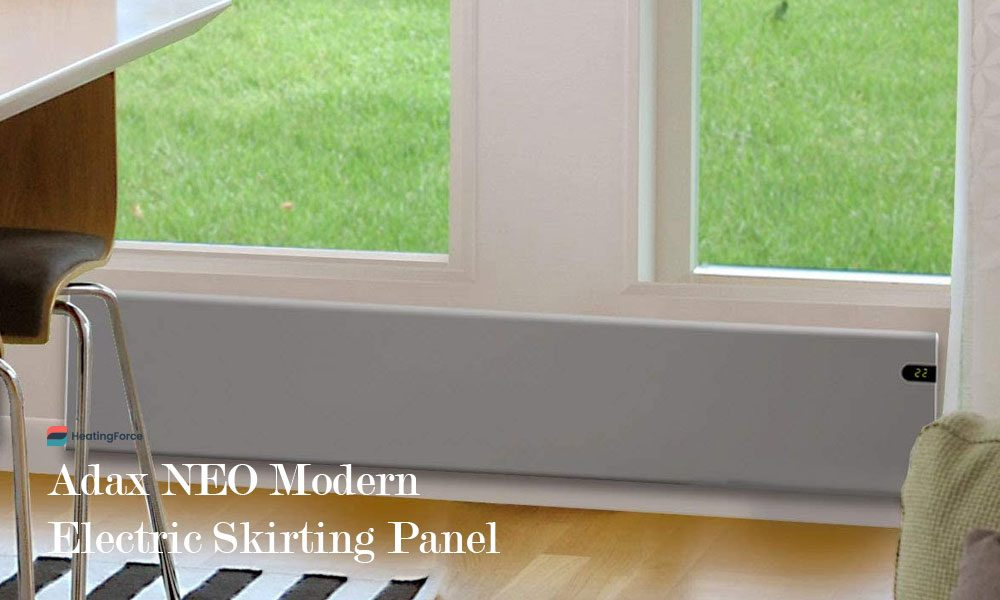 Adax NEO Modern Electric Skirting Panel