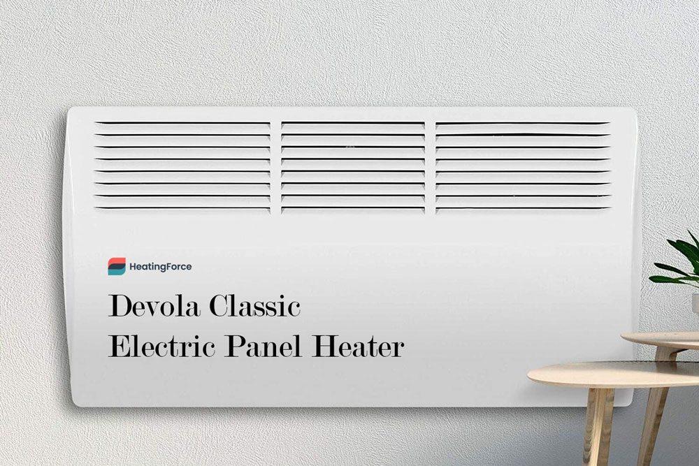 Devola Classic - Slim Electric Panel Heater