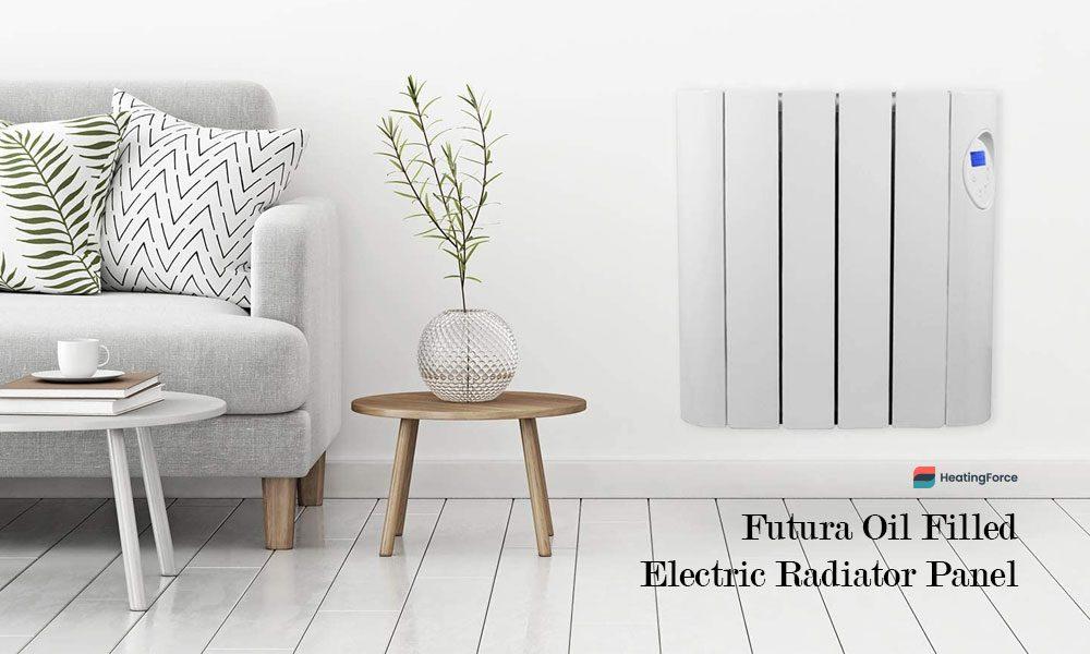 Futura 600W-1800W Oil Filled Electric Radiator Panel