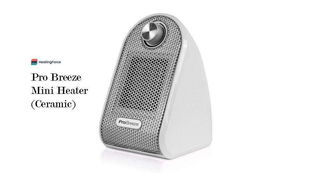 Pro Breeze® Mini Heater - Ceramic Fan Heater