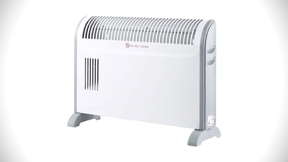 SORTFIELD Convector Radiator Heater with Adjustable Thermostat