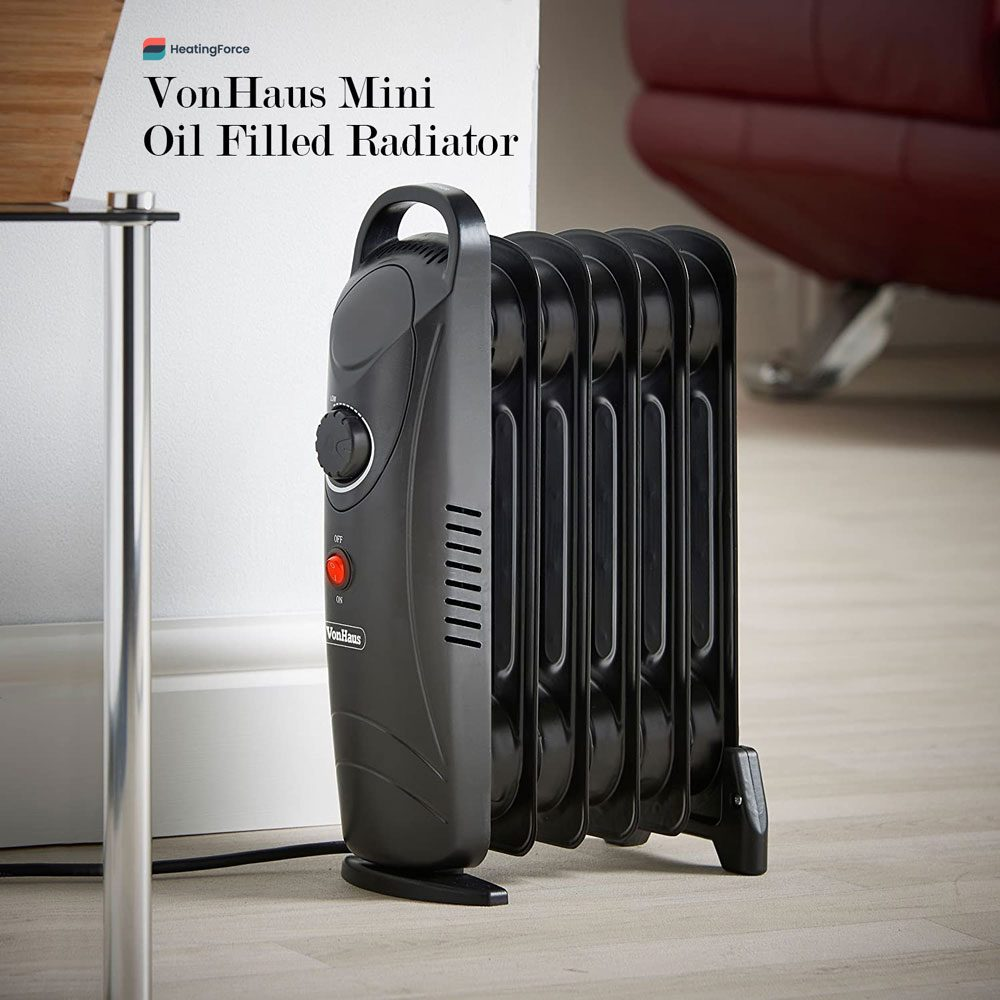 VonHaus Mini Oil Filled Radiator – 800W