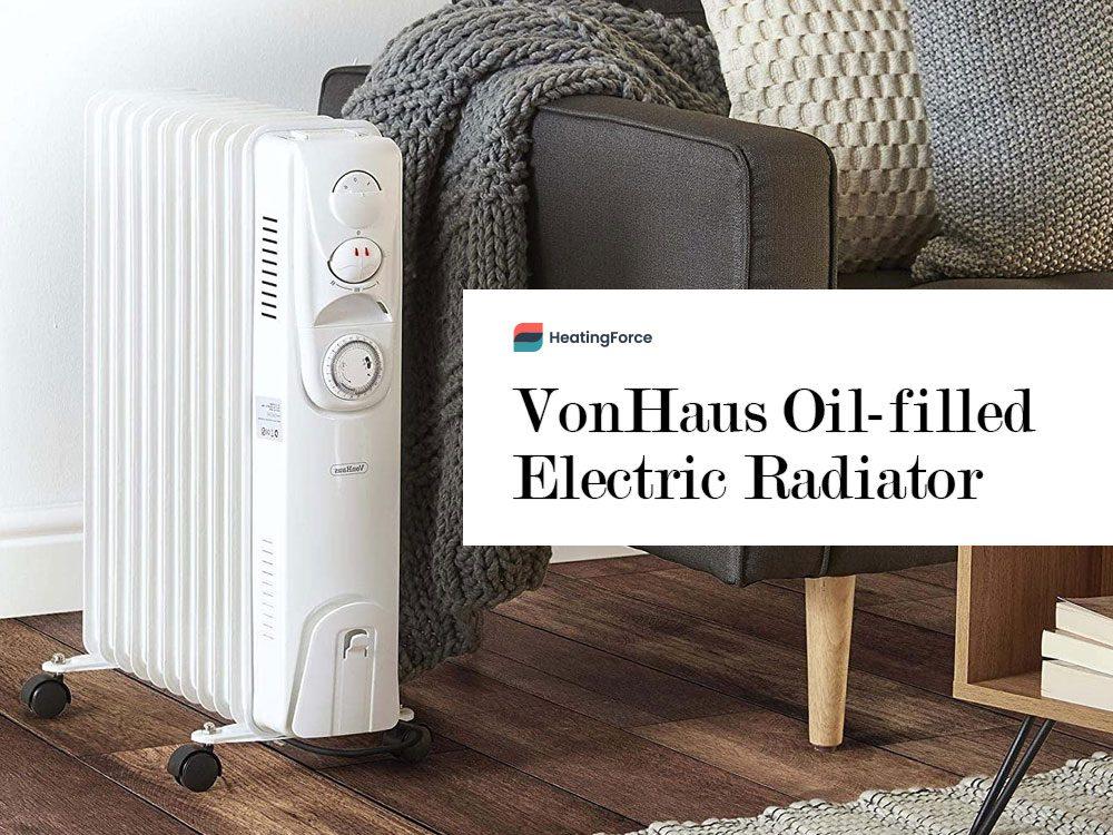 VonHaus Oil Filled Radiator