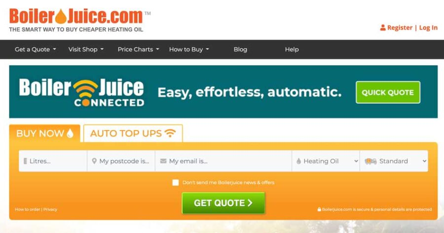 Boiler Juice Review 2020 – Save Money on Heating Oil