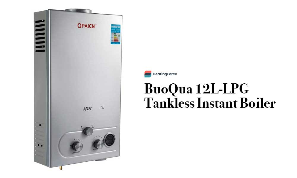 BuoQua 12L-LPG Tankless Instant Boiler