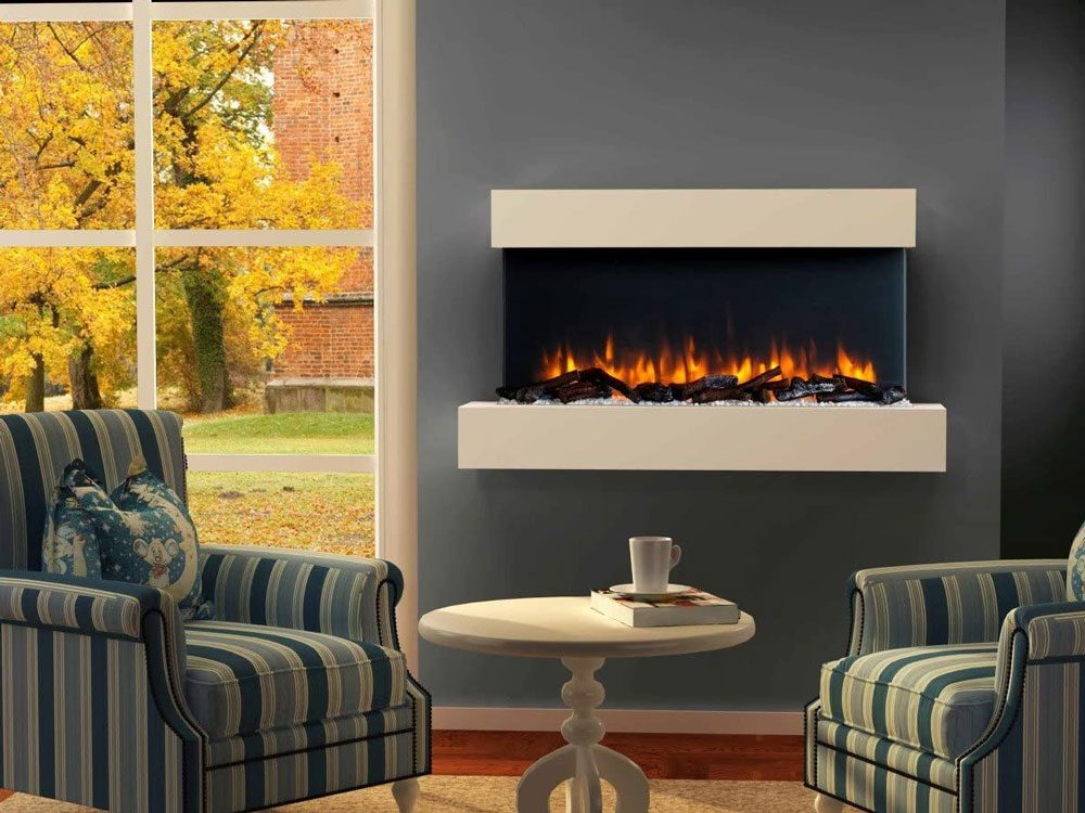 Endeavour Fires Runswick Wall Mounted Electric Fire