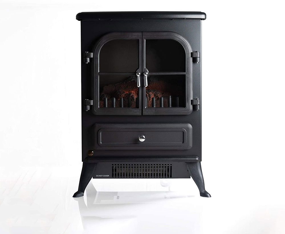 """Galleon Fires - """"Agena"""" Electric Stove with Remote Control"""