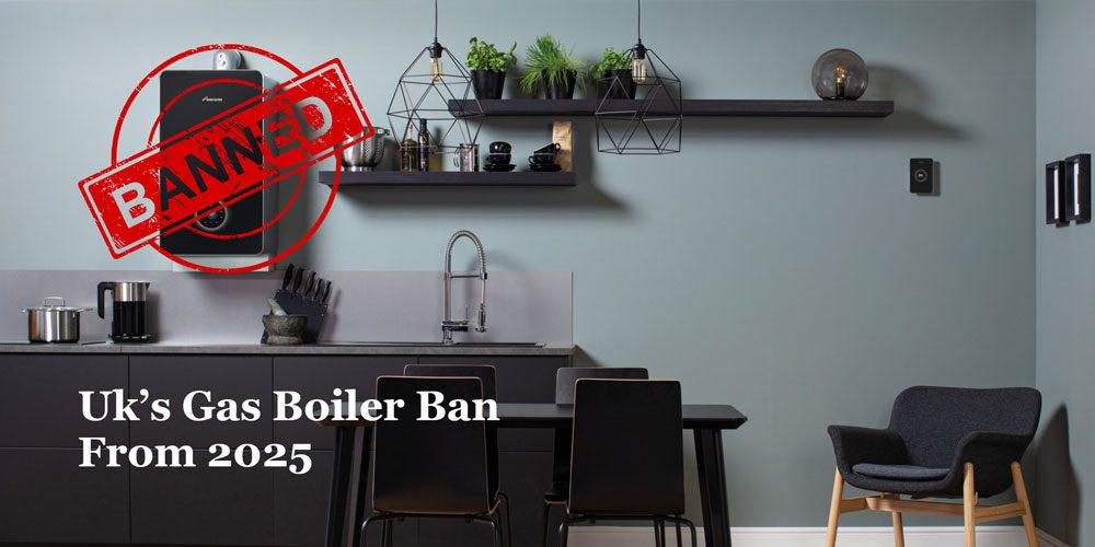 Gas boiler ban in the UK from 2025