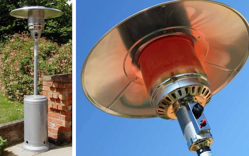 Gasmaster Gas Patio Heater - FREE Regulator & Hose