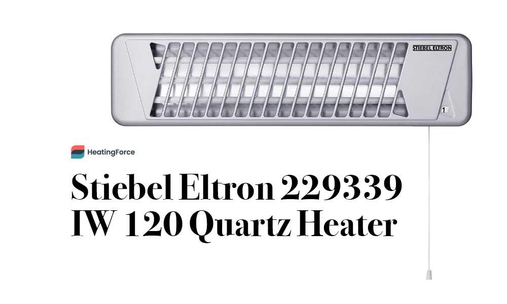 Stiebel Eltron 229339 IW 120 Quartz Heater
