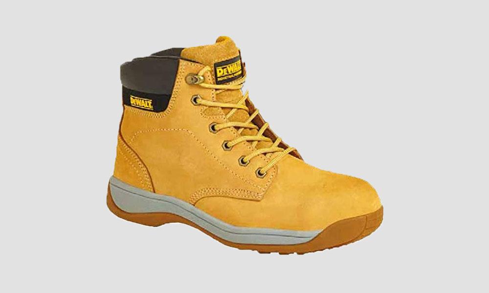 DeWALT Builder Mens Safety Work Lace Up SB Steel Toe Ankle Boots