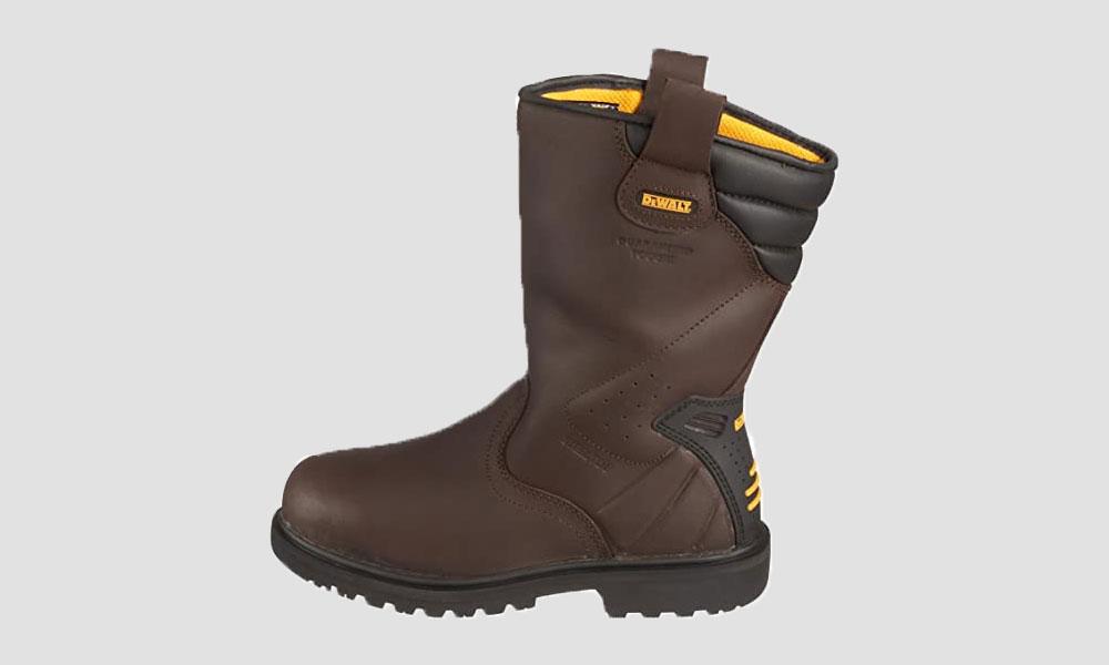 DeWALT Men's Rigger Safety Boots Brown