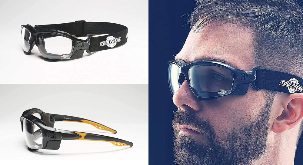 ToolFreak Spoggles Safety Glasses & Protective Goggles