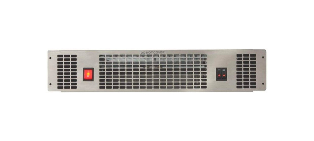 CDA APH01SS Stainless Steel Plinth Heater