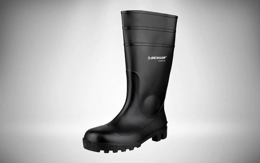 Dunlop Mens Fs1600/142Pp Wellington Boots Black Size