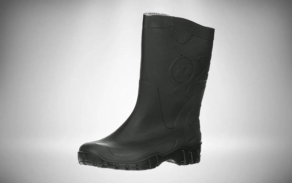 DUNLOP Short Leg Half-Height Wellies - Womes Safety Boots