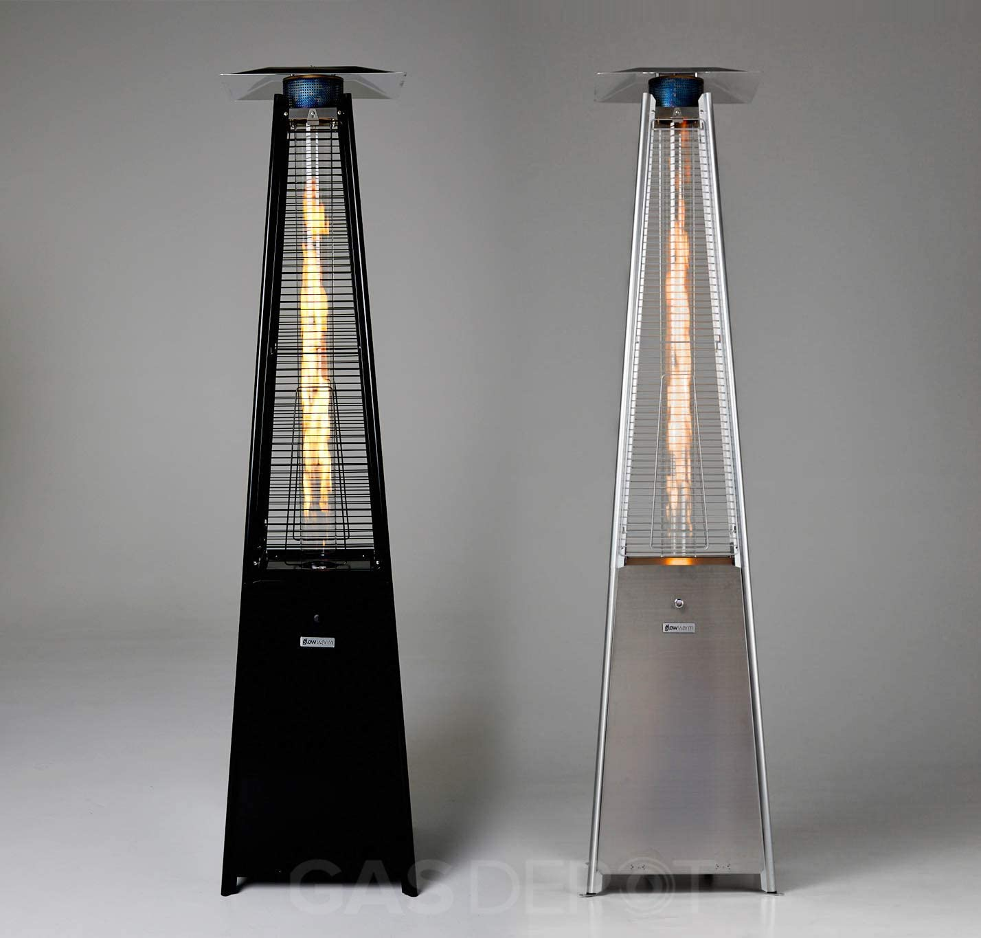 Gasdepot Real Flame Outdoor Pyramid Patio Heater