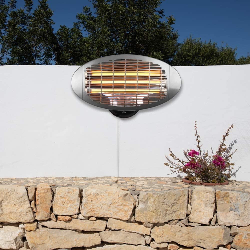Heatlab 2KW Water Resistant Infared Electric Garden Patio Heater