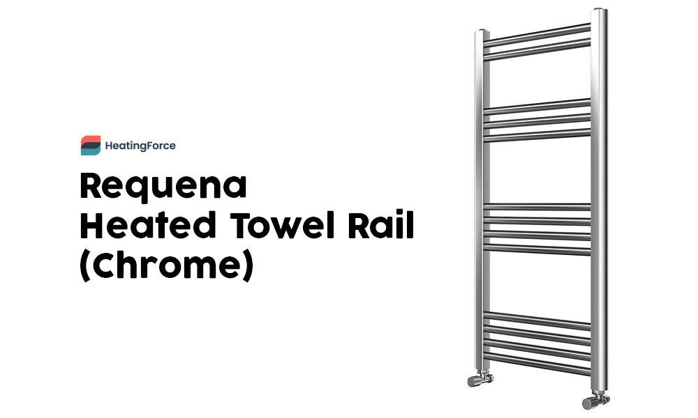 Requena Heated Towel Rail Chrome Bathroom Ladder Radiator