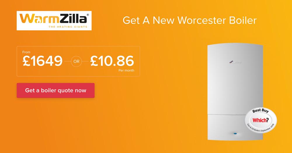 WarmZilla - Worcester Bosch boiler deal