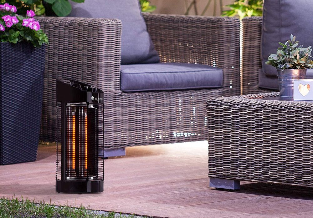 blumfeldt Heat Guru 360 - Infrared Heater, Radiant Heater