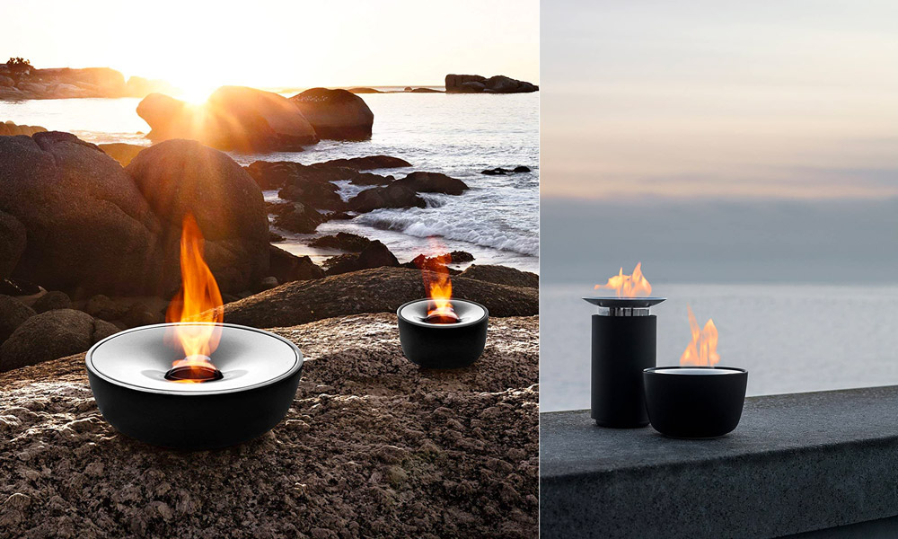 """7"""" Fuoco Tabletop Gel Fire Pit"""