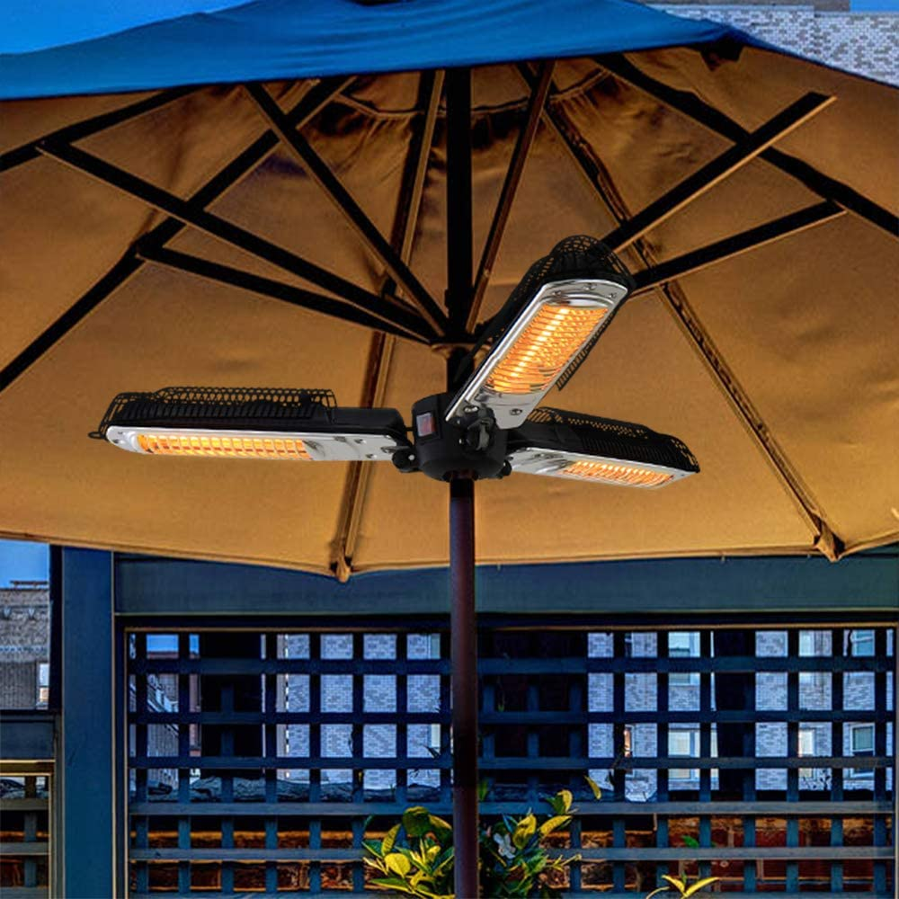ATR ARTTOREAL Electric Patio Parasol Umbrella Heater